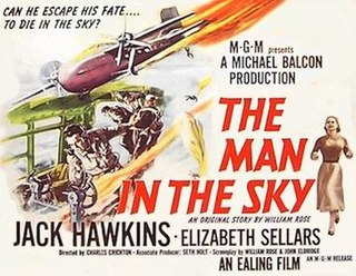 <i>The Man in the Sky</i> 1957 film by Charles Crichton
