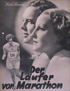 <i>The Marathon Runner</i> 1933 film