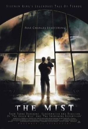 The Mist (film) - Theatrical release poster