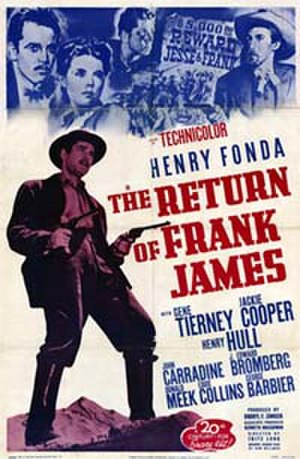 The Return of Frank James - The Return of Frank James movie cover