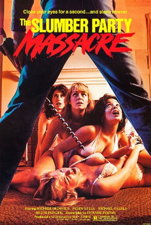 The Slumber Party Massacre - Theatrical release poster