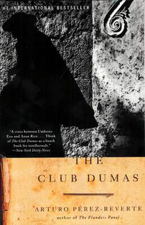 The Club Dumas - Cover of Random House edition