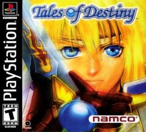 Tales of Destiny - Original North American PlayStation version box art