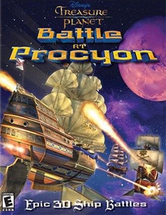 Treasure Planet: Battle at Procyon - Image: Treasure Planet Battle at Procyon Coverart