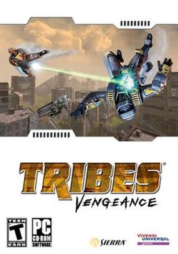 Tribes: Vengeance box cover