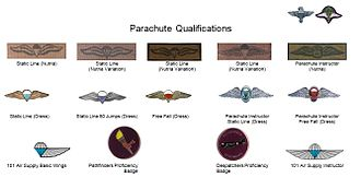 1 Parachute Battalion - Qualifications