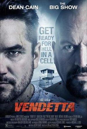 Vendetta (2015 film) - Theatrical release poster