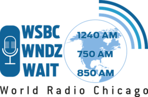 WSBC - Image: WSBC WNDZ WAIT World Radio Chicago logo