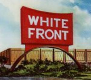 White Front - Image: White Frontlogo