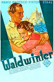 <i>Winter in the Woods</i> (1936 film) 1936 film by Fritz Peter Buch