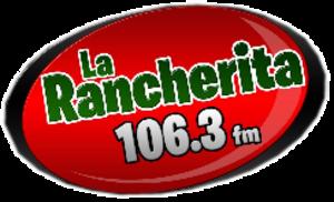 XHIS-FM - Image: XHIS La Rancherita 106.3FM logo