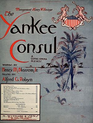 Ain't It Funny What a Difference Just a Few Hours Make - Image: Yankee Consul 1903