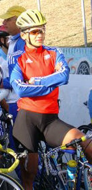 Yumari González - González at the 2005 UCI Pan American Continental Championships
