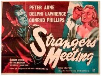 Strangers' Meeting - Original British quad poster