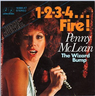 1-2-3-4... Fire! - Image: 1234 Fire single cover