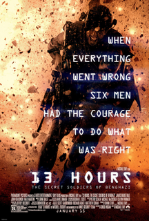 <i>13 Hours: The Secret Soldiers of Benghazi</i> 2016 film directed by Michael Bay
