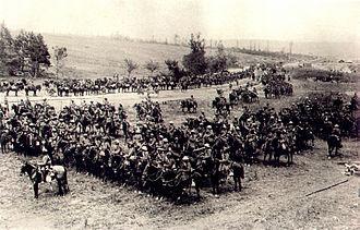 19th Lancers - Image: 18th Lancers, Mametz 1916