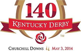 2014 Kentucky Derby - Official logo for the 2014 Kentucky Derby