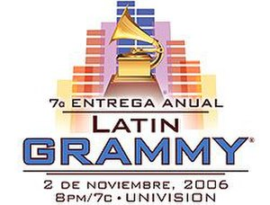 7th Annual Latin Grammy Awards - Image: 7th latin grammy