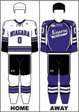 Niagara Purple Eagles mens ice hockey