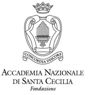 Accademia Nazionale di Santa Cecilia - Image: Accademia Nazionale di Santa Cecilia Logo icartists(dot)co(dot )uk
