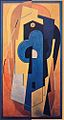 Albert Gleizes, 1921, Composition bleu et jaune (Composition jaune), oil on canvas, 200.5 x 110 cm DSC00547.jpg