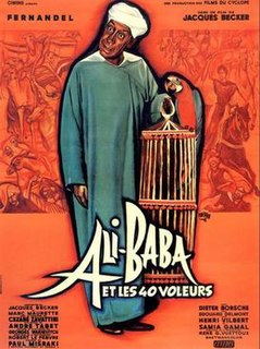 <i>Ali Baba and the Forty Thieves</i> (1954 film) 1954 French film directed by Jacques Becker