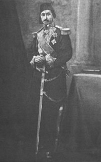 Ali Pasha Sherif Foreign Minister of Egypt