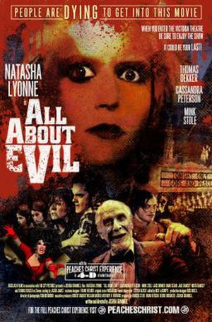 All About Evil - Theatrical release poster