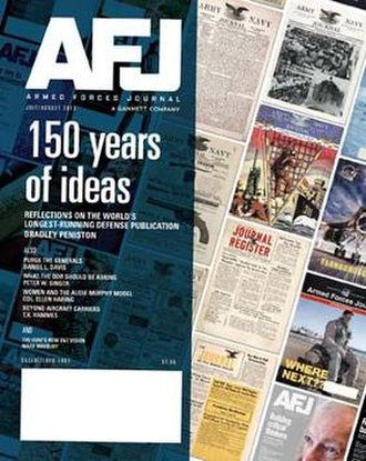 Armed Forces Journal - Image: Armed Forces Journal cover July August 2013