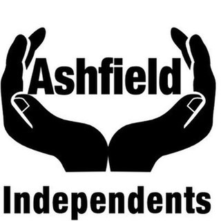 Ashfield Independents minor political party in Nottinghamshire