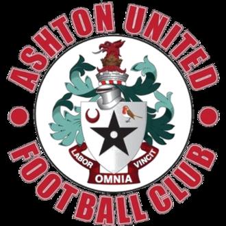 Ashton United F.C. - Image: Ashton United FC logo