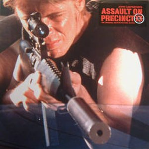 Assault on Precinct 13 (1976 film) - Image: Assaultalbumcover