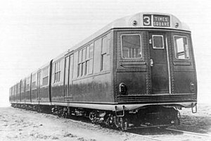 MS Multi-section car (New York City Subway car) - The BMT Green Hornet