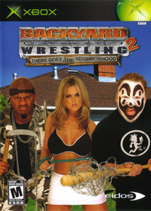 Backyard Wrestling 2: There Goes the Neighborhood - Image: Backyard Wrestling 2 There Goes the Neighborhood Coverart