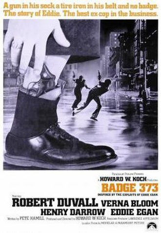 Badge 373 - theatrical poster