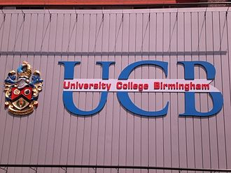 University College Birmingham - The main Summer Row building