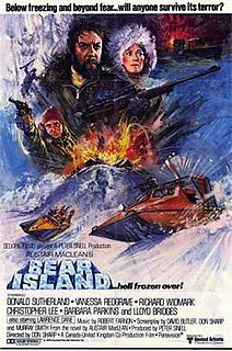 <i>Bear Island</i> (film) 1979 British-Canadian thriller film directed by Don Sharp
