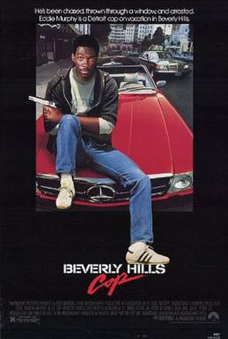 Beverly Hills Cop - Theatrical release poster