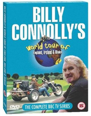 Billy Connolly's World Tour of England, Ireland and Wales - DVD Box-set cover