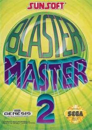 Blaster Master 2 - Box art of Blaster Master 2