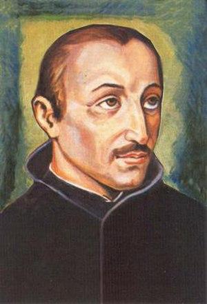 Diego Luis de San Vitores - Image: Blessed Diego Luis San Vitores Portrait