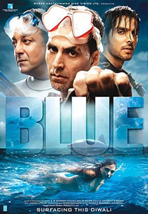 Blue (2009 film) - Theatrical release poster