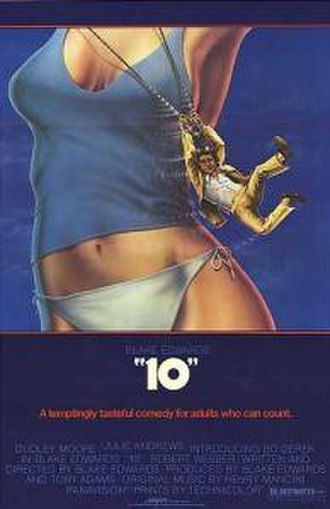 10 (film) - Theatrical release poster by John Alvin.