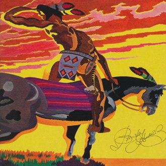 Barney Bubbles - The original UK LP sleeve of Brinsley Schwarz's Brinsley Schwarz (1970) designed by Barney Bubbles