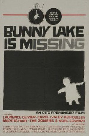 Bunny Lake Is Missing - Film poster designed by Saul Bass