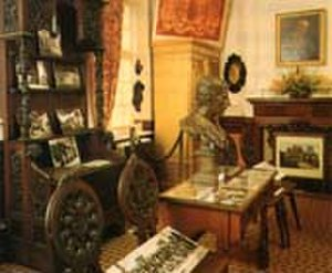 Bushey Museum - A view of the Herkomer Room at Bushey Museum