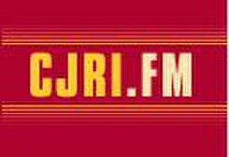 CJRI-FM - Image: CJRI