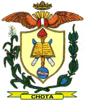Chota Province - Image: COA Chota Province in Cajamarca Region