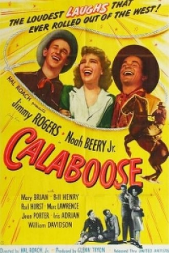 Calaboose (film) - Theatrical poster.